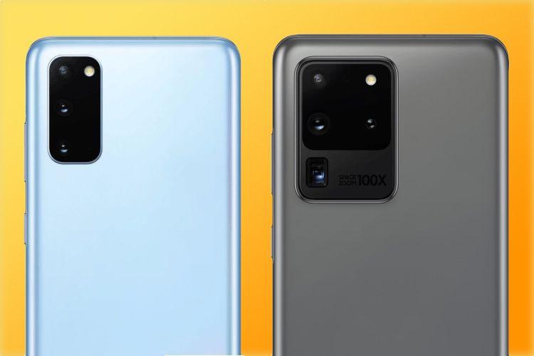 Galaxy S20: les images officielles et un équivalent à AirDrop en fuite
