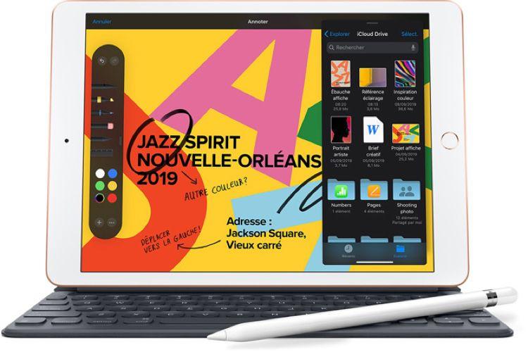Promo : iPad 7 128 Go cellulaire à 490€ et réductions sur les accessoires