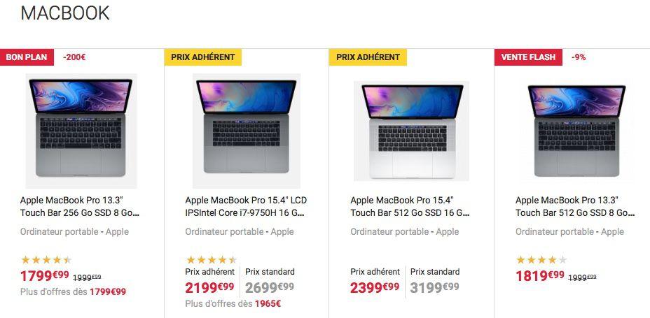 Fnac : une vente flash Apple avec un gros bonus adhérent