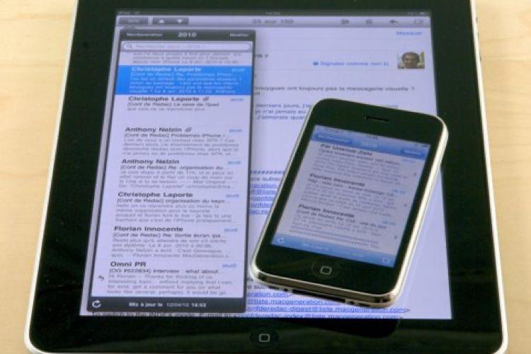 Test de l'iPad 16 Go Wi-Fi (2010)