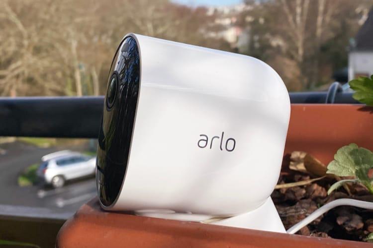 Test de la caméra de surveillance Arlo Pro3