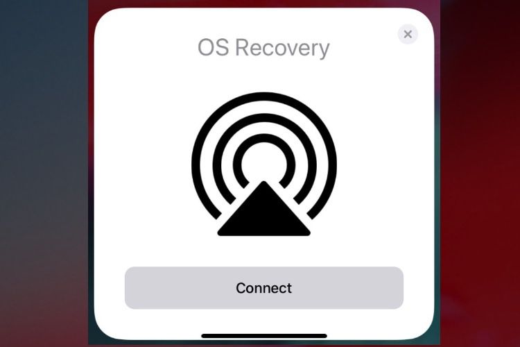 Un outil de restauration à même l'iPhone dans iOS13.4