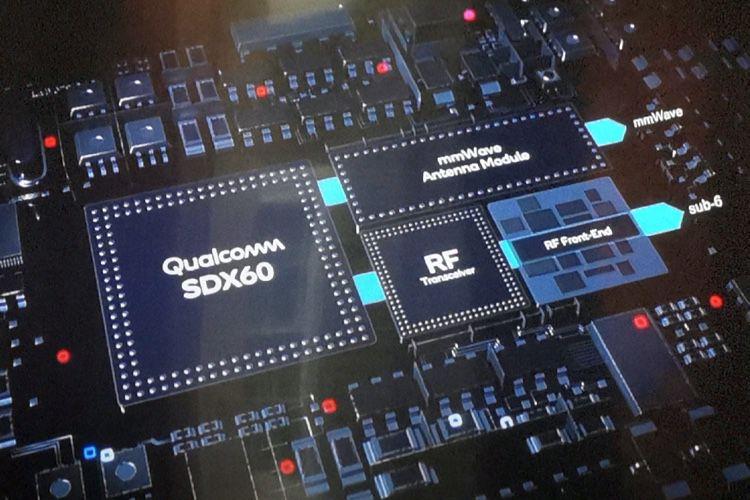 Qualcomm dévoile son futur modem 5G, le Snapdragon X60