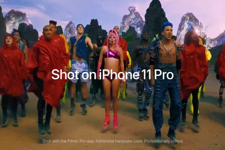 video en galerie : Le dernier clip de Lady Gaga a été filmé avec l'iPhone11Pro 🆕