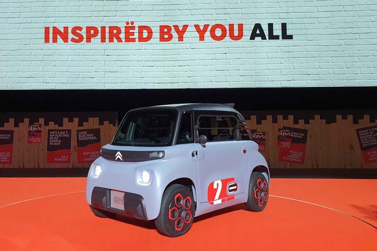 Citroën AMI, un tout petit véhicule électrique taillé pour la ville
