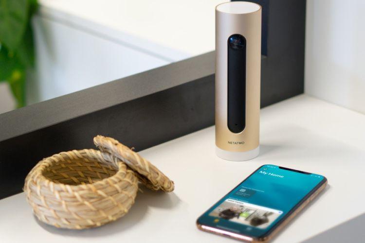 Netatmo : la caméra d'intérieur maintenant compatible avec la «vidéo sécurisée HomeKit»