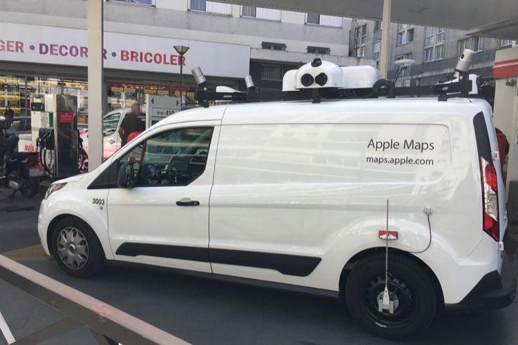Les camionnettes d'Apple Plans vont rouler dans toute la France