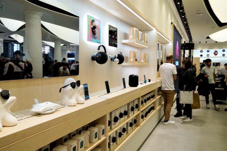 Huawei a glissé les brevets d'Apple dans les plans de sa boutique barcelonaise