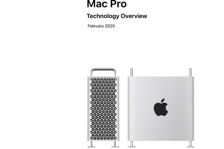 Apple vendra les roues du Mac Pro séparément