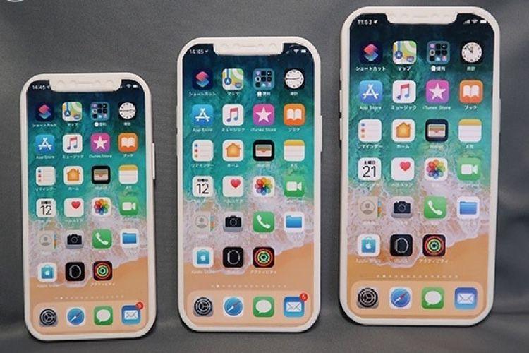 video en galerie : iPhone 12 : 3maquettes pour s'en faire une idée