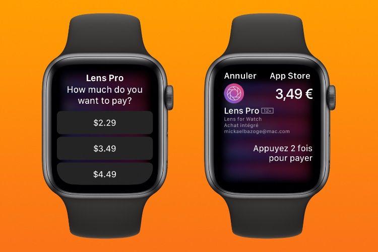 watchOS6.2 : petit aperçu des achats intégrés depuis le poignet