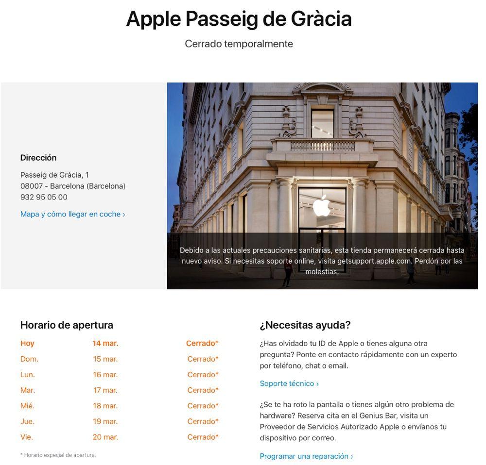 Apple ferme temporairement tous ses magasins hors de la Chine