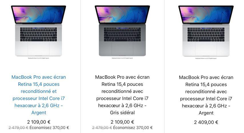chargeur macbook pro 13 reconditionné