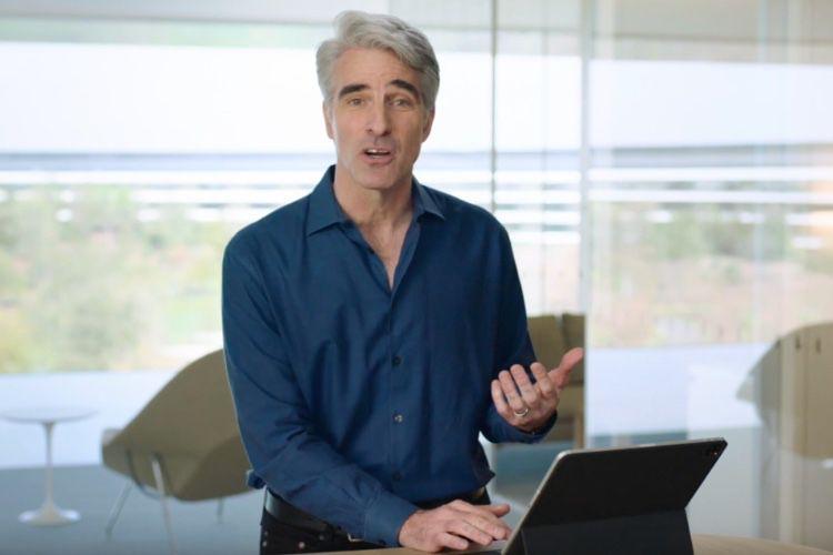 video en galerie : Démo du nouvel iPadPro et du Magic Keyboard par Craig Federighi