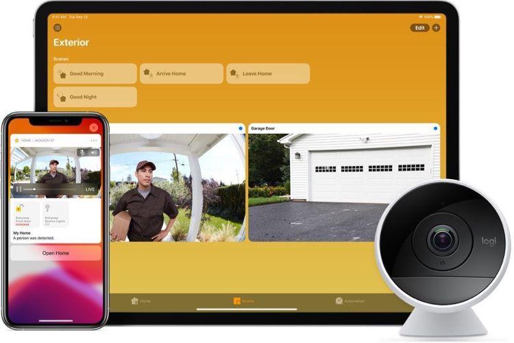 La caméra Logitech Circle 2 s'intègre davantage à l'app Maison