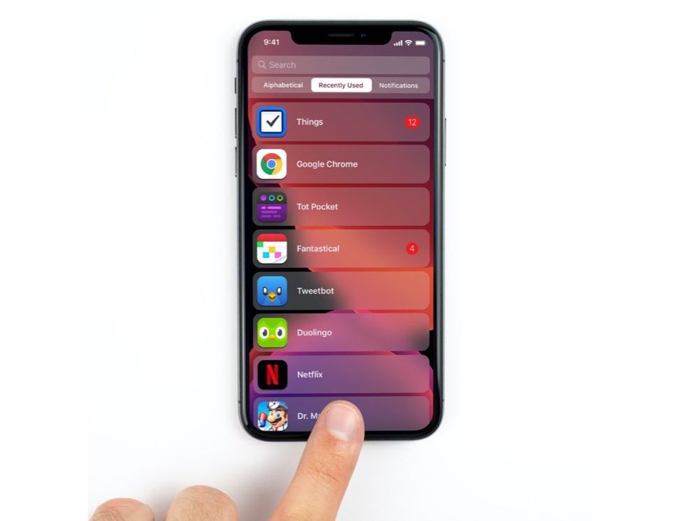iOS 14 : le futur écran d