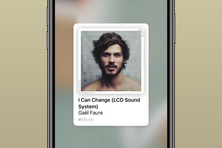 iOS13.4.5 facilite le partage AppleMusic sur Facebook et Instagram