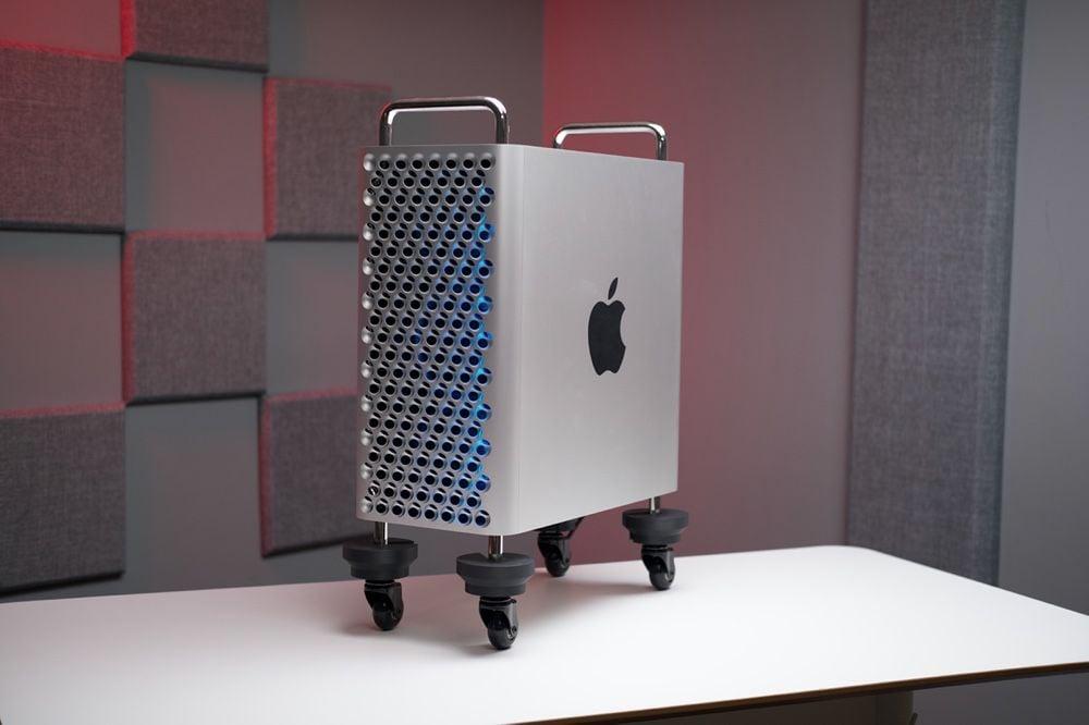 Ça roule pour ce MacPro, même sans les roulettes d