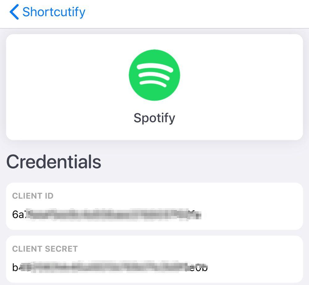 Restez chez vous : utilisez Spotify avec Raccourcis