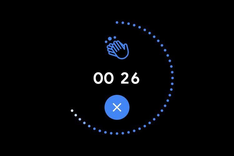 Les montres Wear OS rappellent régulièrement de se laver les mains