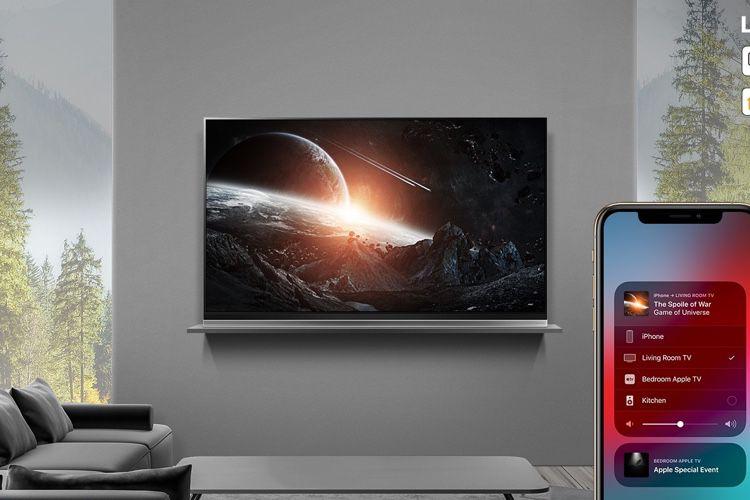 LG ajoutera aussi AirPlay et HomeKit à certains téléviseurs de 2018