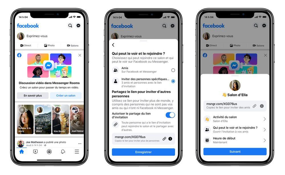 Facebook Lance Messenger Rooms Pour Des Appels Video Avec 50 Personnes Igeneration