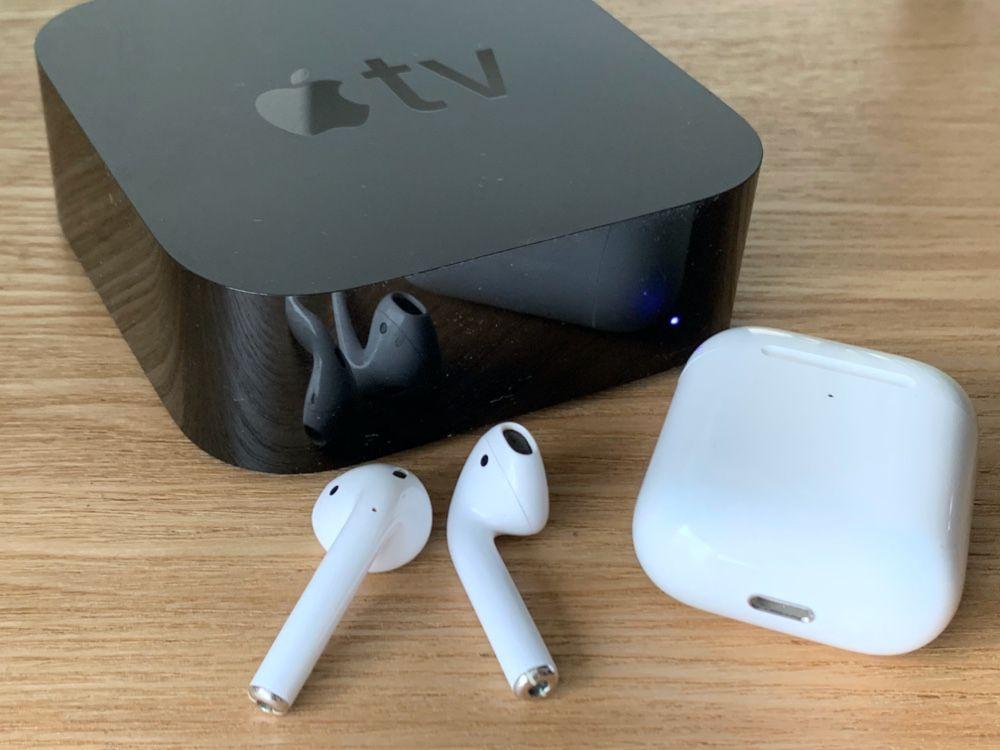 2 casques bluetooth sur apple tv