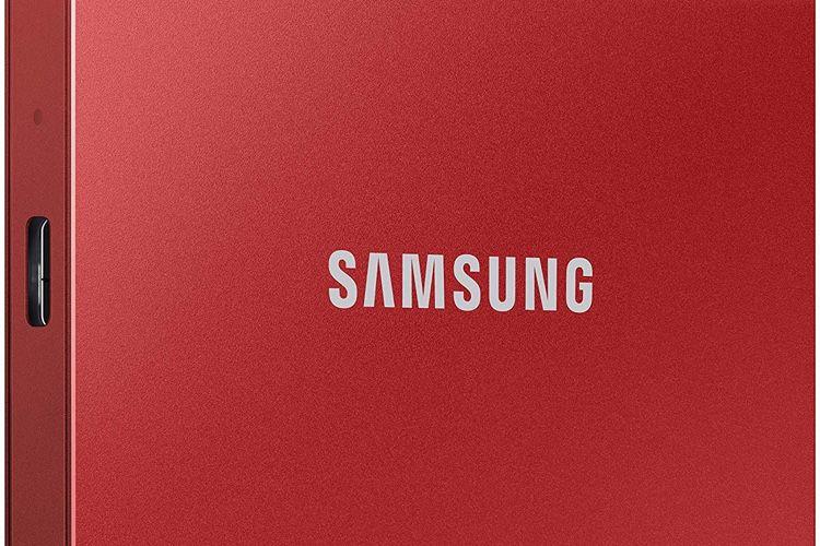 SSD : le T7 NVMe de Samsung à partir de141€
