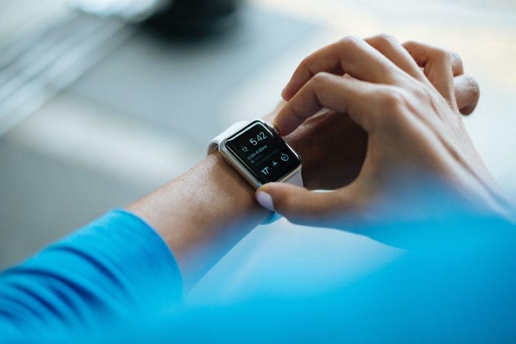 L'AppleWatch bientôt contrôlée par détection de mouvement?