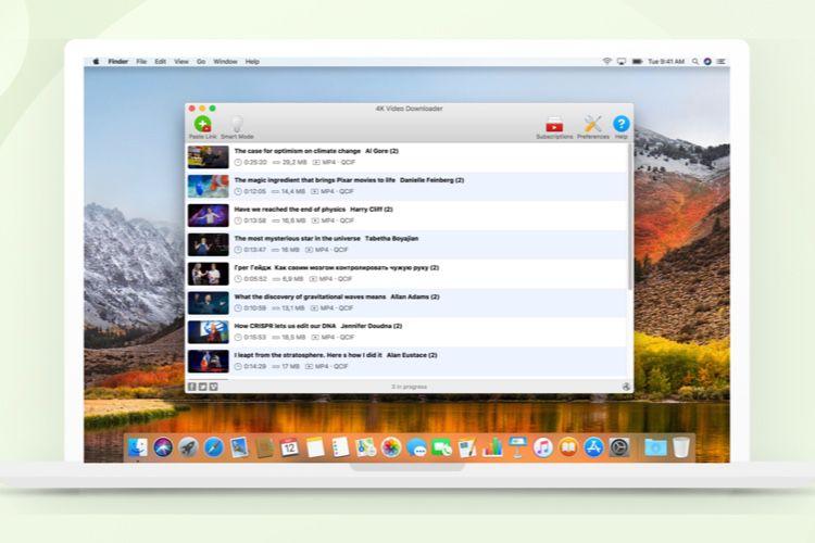 Téléchargez playlists et vidéos (YouTube, TikTok) sur votre Mac avec 4K Video Downloader  📣