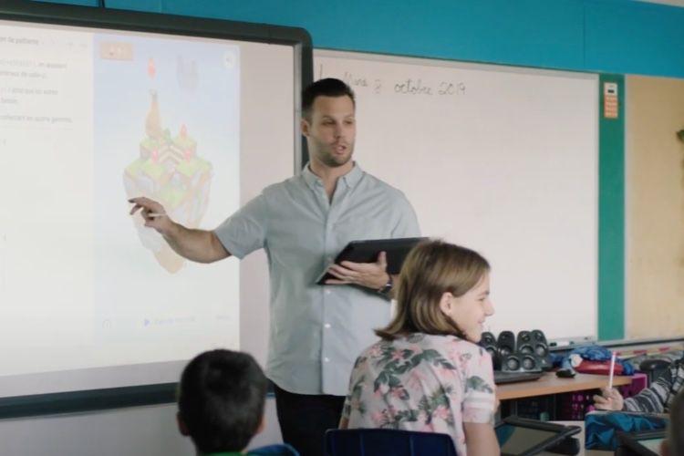 video en galerie : Apple vante l'apprentissage du code en classe