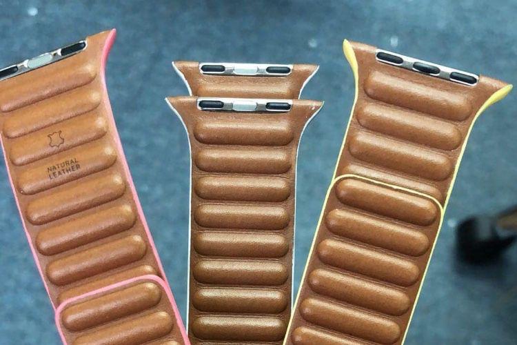Apple aurait de nouveaux bracelets «boudins» en cuir! 🆕