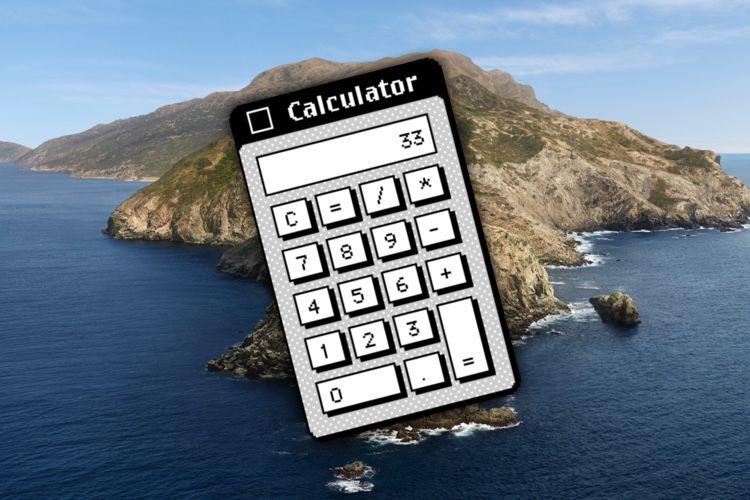 La patte de Steve Jobs sur la calculette du Mac