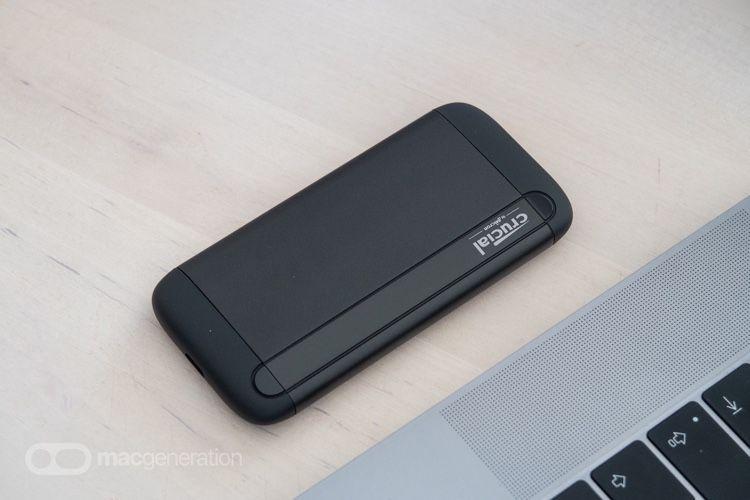 Mini-test du Crucial X8, le premier SSD portable de Crucial