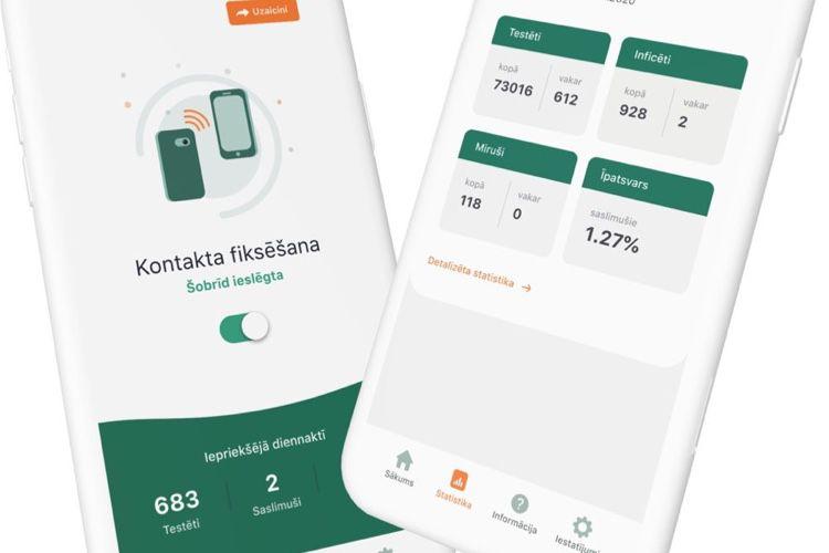 La Lettonie veut montrer l'exemple avec l'API d'Apple et Google