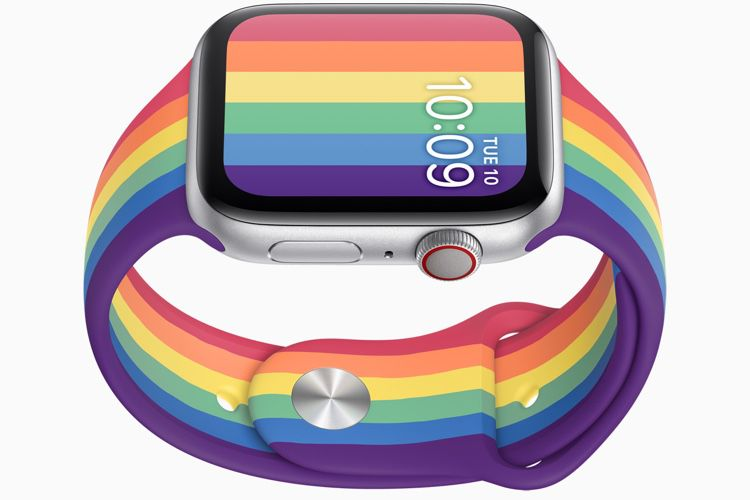 Apple Watch : deux bracelets Sport et Nike en versions arc-en-ciel