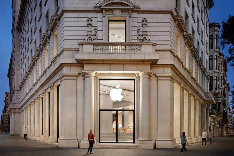En Espagne, les AppleStore en pleine forme
