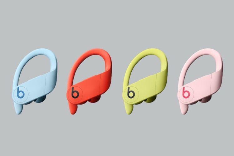 Les nouvelles couleurs des Powerbeats Pro seront disponibles le 9 juin