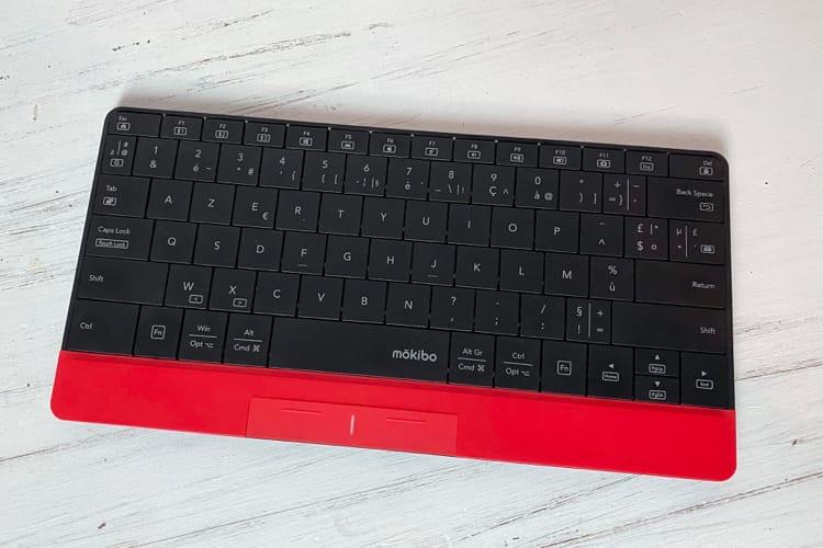 Test du mokibo, un clavier Bluetooth qui est aussi un trackpad