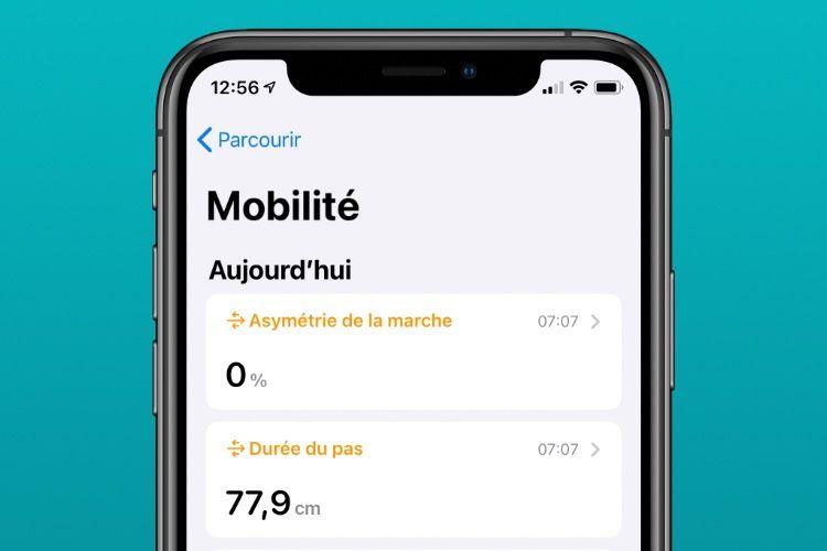 iOS 14 : l'app Santé mesure aussi la mobilité de l'utilisateur