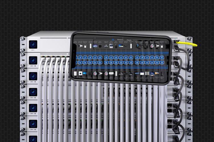 Ubiquiti identifie les câbles Ethernet en réalité augmentée