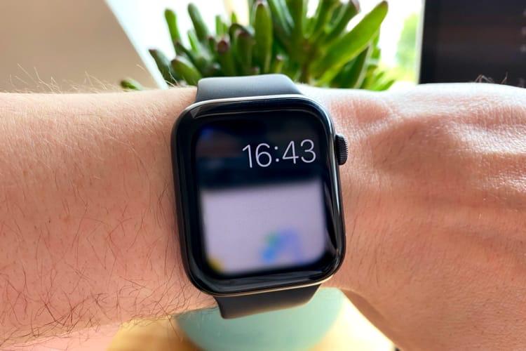watchOS7 ne fait rien de plus avec l'écran toujours allumé de la Series5