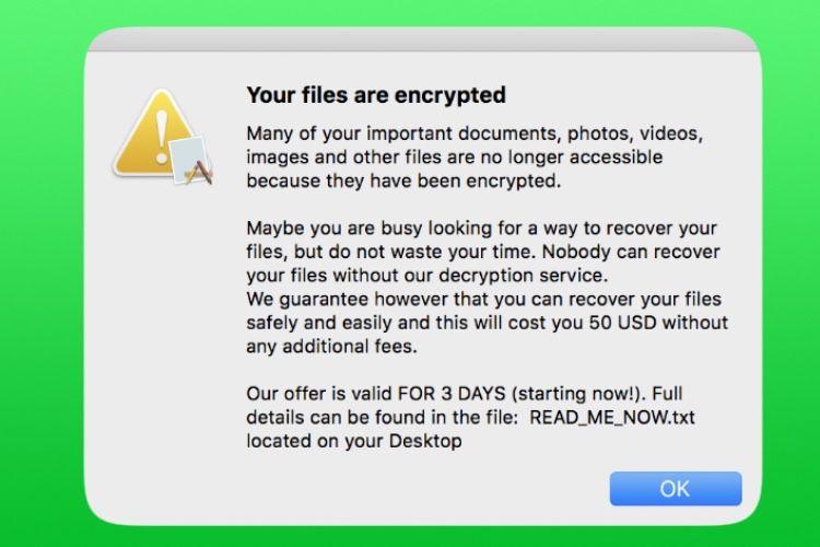 EvilQuest chiffre vos fichiers et demande une rançon