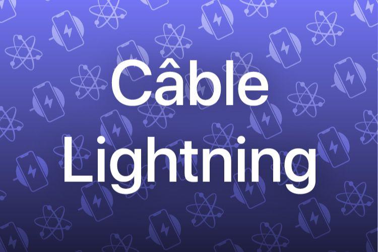 Le coup de la panne #6 : les câbles Lightning