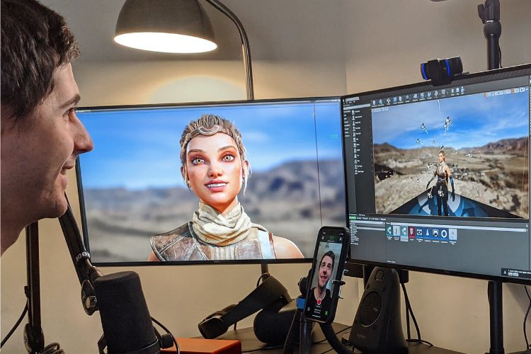 Live Link Face : la solution mo-cap pour Unreal Engine avec un iPhone