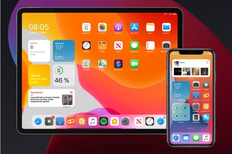 Deuxième bêta pour iOS 14, tvOS 14 et watchOS 7 !