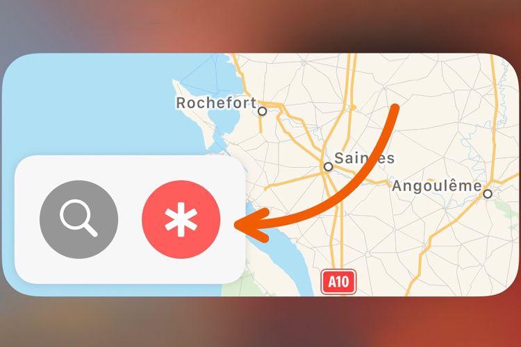 Sous iOS14, le widget de Plans met en avant les centres de dépistage de la COVID-19