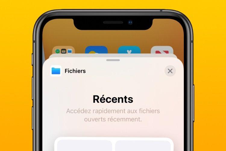 Bêta 2 d'iOS 14 : widget Fichiers, des services par défaut pour le HomePod🆕