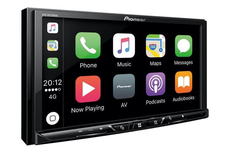 Promo : 50 € de réduction sur un autoradio CarPlay Pioneer