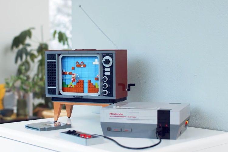 Lego lance une NES accompagnée d'un téléviseur cathodique